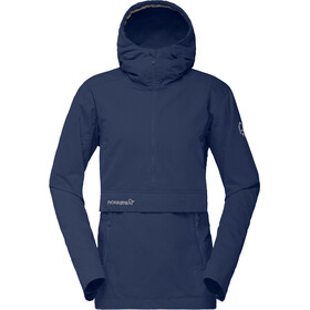 Norrøna W's Svalbard Cotton Anorak Indigo Night